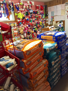 Let us take care of all of your pet food needs at Lyons Kennels!